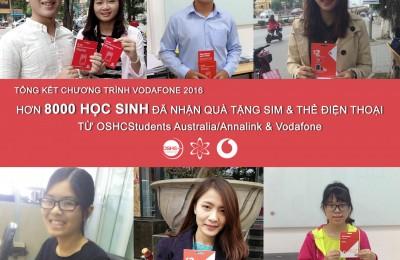 """Chương trình """"Quà tặng SIM và thẻ điện thoại Vodafone 2017"""""""