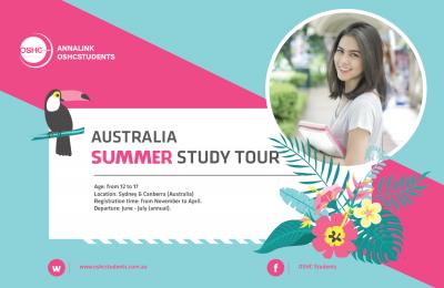 Sydney Summer study tour 2019