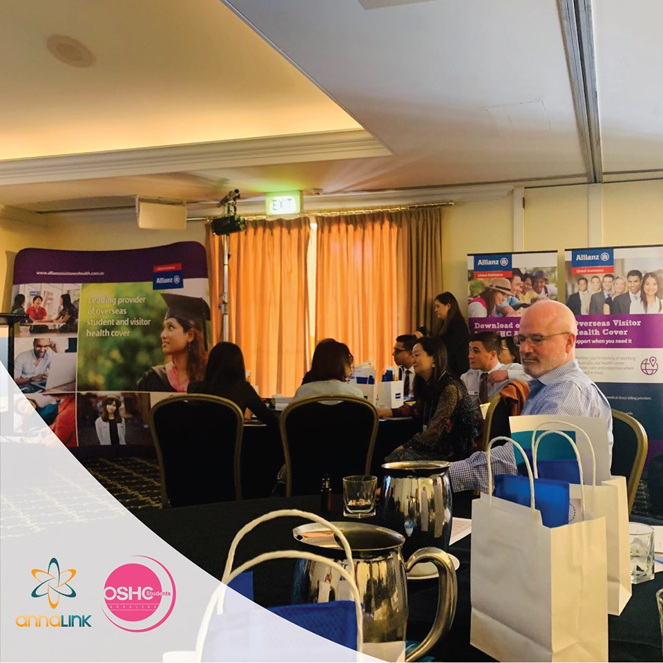 Some pictures of Annalink at the Allianz Global Top 10 Agencies 2019 event