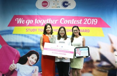 "The results of the writing competition ""We go together 2019"" are out!"