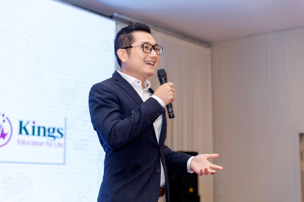 Ông Phương Trần giám đốc khu vực Đông Nam Á của Tập đoàn giáo dục Kings Education
