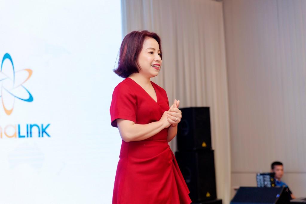 Bà Anna Thái – Annalink Global Marketing & Sales Director